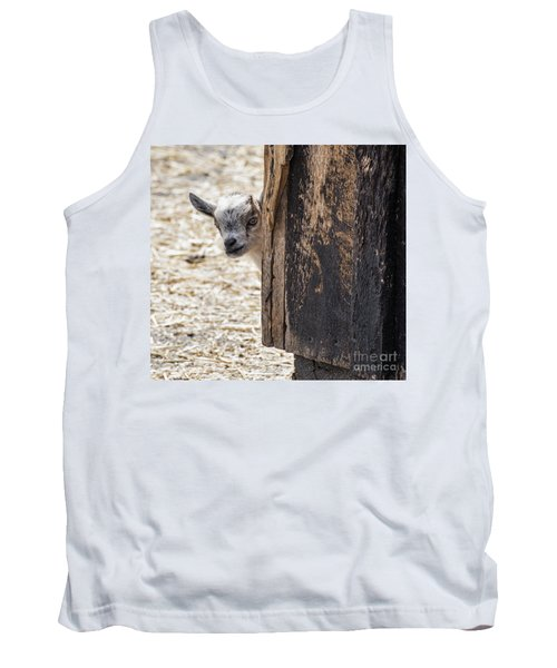 Do You Think Mom Saw Me Tank Top by Judy Wolinsky