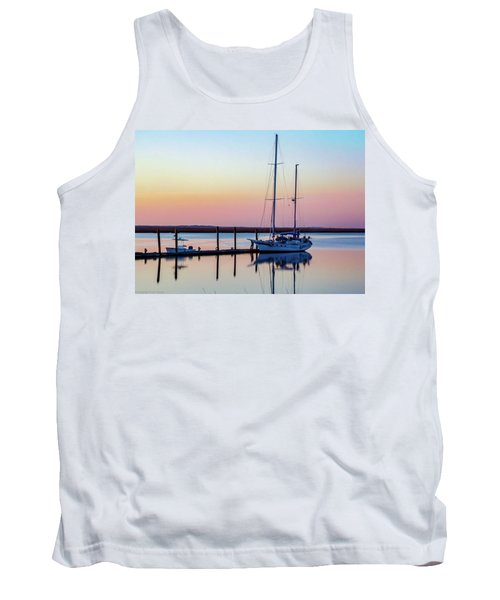 Docked On Jekyll Island Tank Top