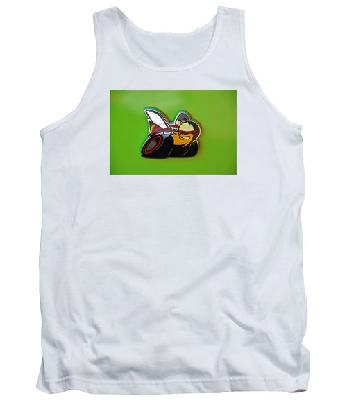 Dodge Scat Pack Badge Tank Top by Mike Martin