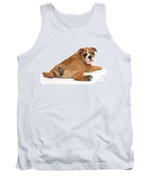 Tank Top featuring the photograph Does My Bum Look Big In This? by Warren Photographic