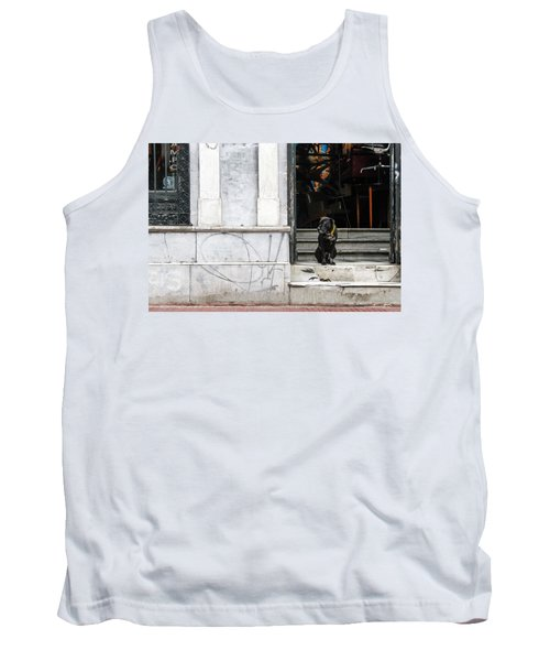 Dog From The Block Tank Top