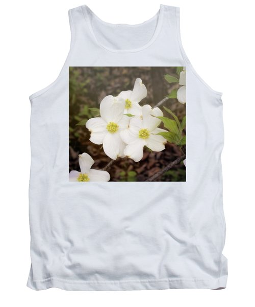 Dogwood Blossom Trio Tank Top