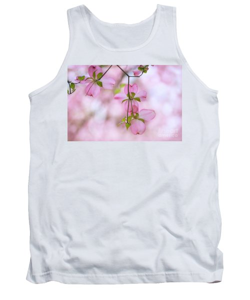 Dogwood Sunset Tank Top by Rima Biswas
