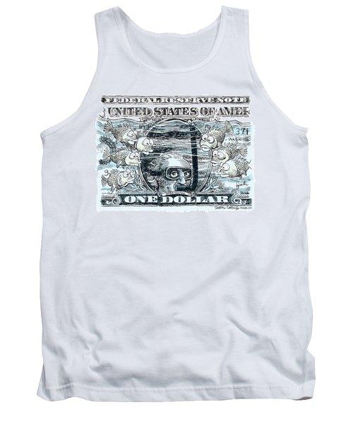 Dollar Submerged Tank Top