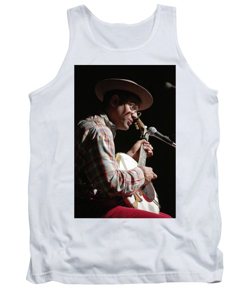 Tank Top featuring the photograph Dom Flemons by Jim Mathis