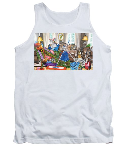 Domestic Abuse Tank Top