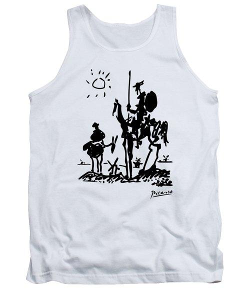 Don Quixote -  1955 Artwork Reproduction Tank Top