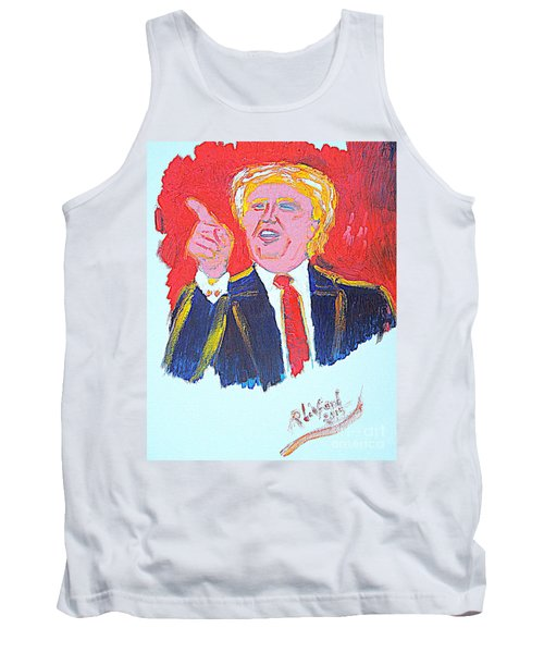 Donald Trump You Are Great America Is Great  Tank Top