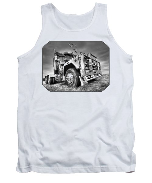 Done Hauling - Black And White Tank Top