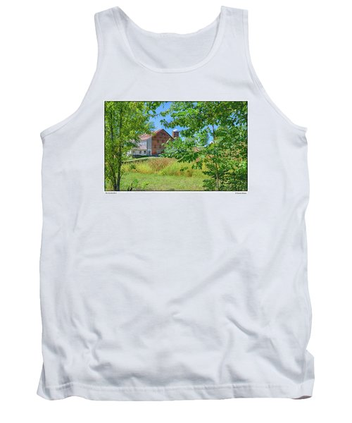 Tank Top featuring the photograph Donkey Barn by R Thomas Berner