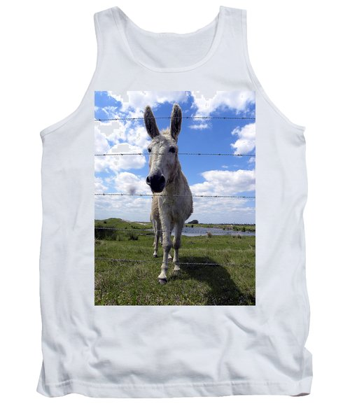 Tank Top featuring the photograph Don't Fence Me In 000  by Chris Mercer