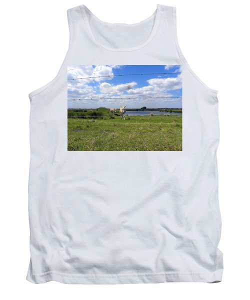 Tank Top featuring the photograph Don't Fence Me In by Chris Mercer