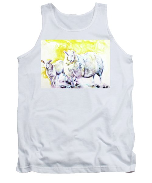 Don't Mess With My Lamb Tank Top