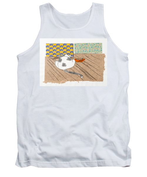 Don't Touch Me Or I Will Eat You Too Tank Top by Leela Payne