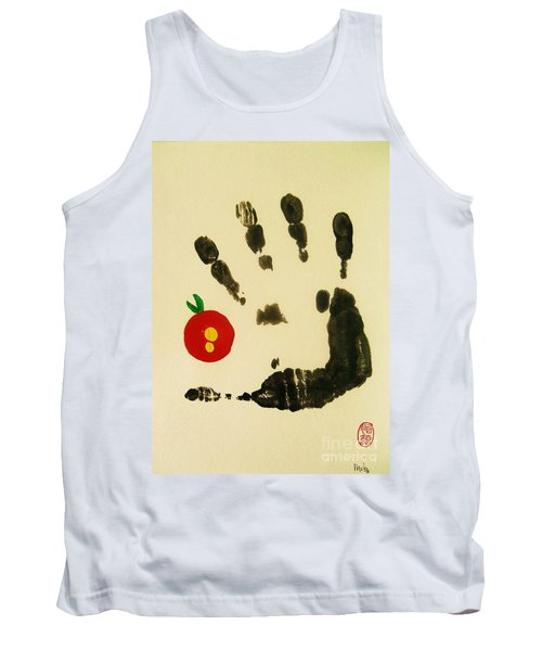 Tank Top featuring the painting Don't Touch Me by Roberto Prusso