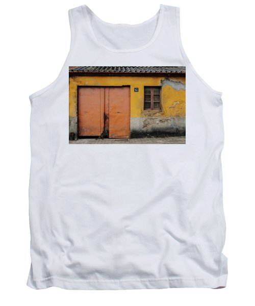 Tank Top featuring the photograph Door No 162 by Marco Oliveira