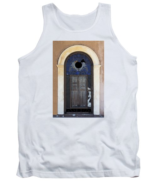 Door With A Hole Tank Top