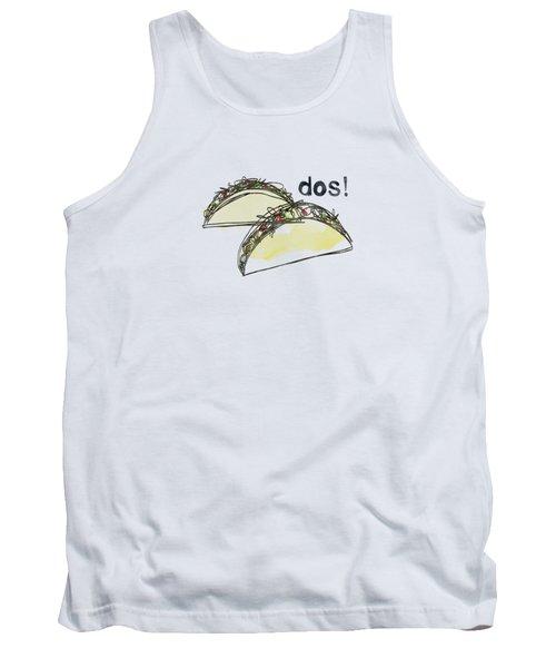 Dos Tacos- Art By Linda Woods Tank Top