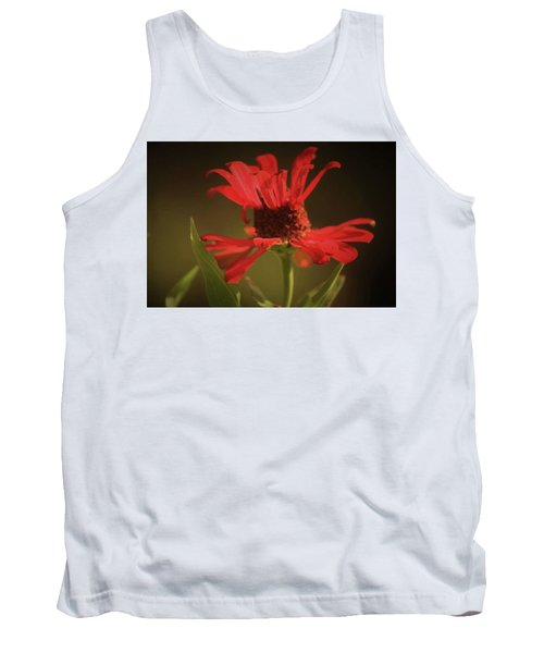 Tank Top featuring the photograph Double Petals by Donna G Smith