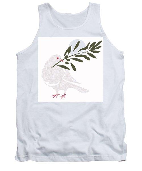 Dove Of Peace Tank Top