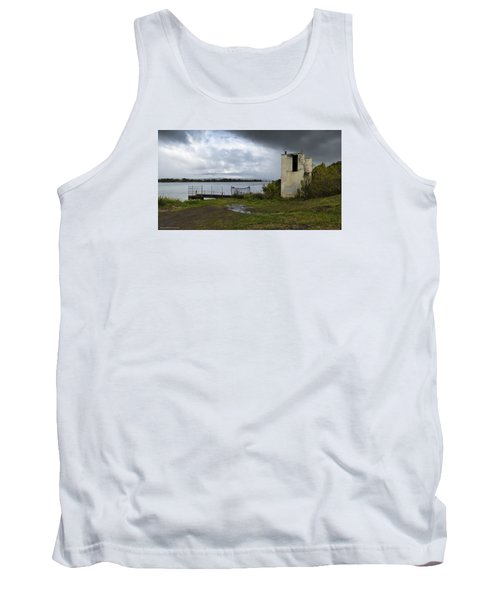 Tank Top featuring the photograph Down By The River 01 by Kevin Chippindall