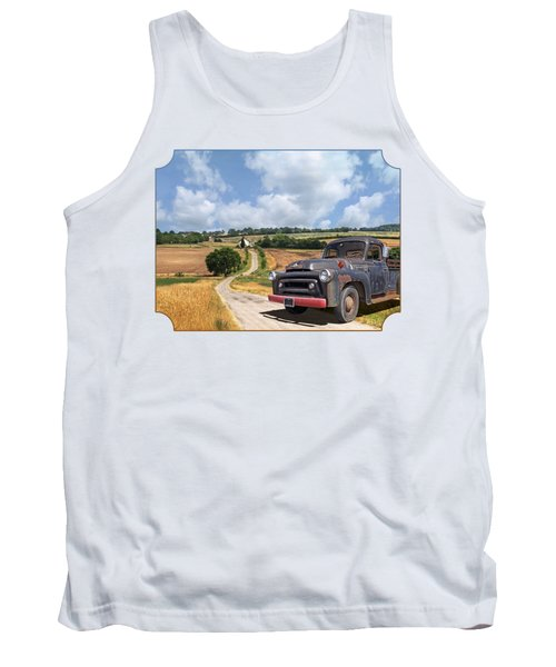 Down On The Farm - International Harvester S-100 Tank Top