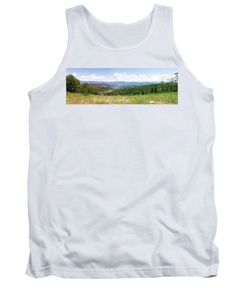 Tank Top featuring the photograph Down The Valley At Snowmass #2 by Jerry Battle