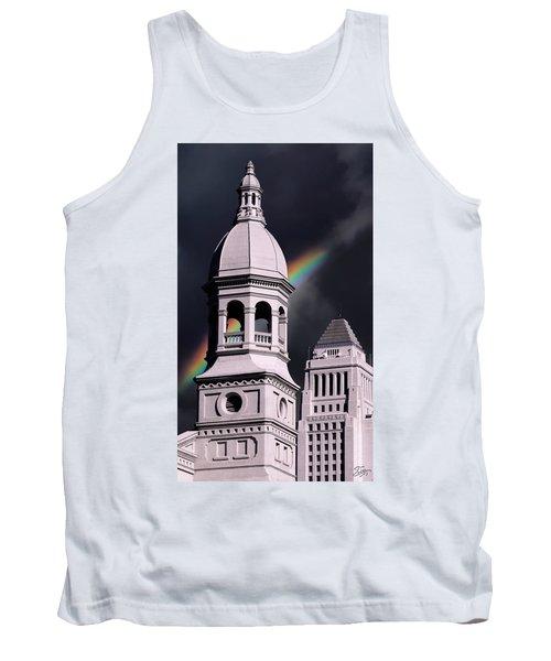 Downtown Buildings Tank Top