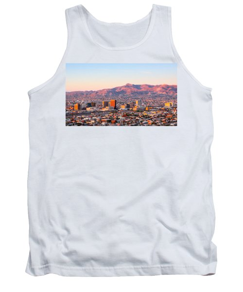 Downtown El Paso Sunrise Tank Top