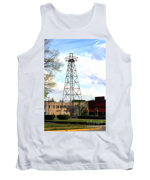 Downtown Gladewater Oil Derrick Tank Top