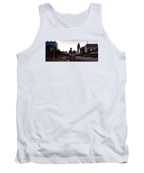 Downtown Omaha At Sunset Tank Top
