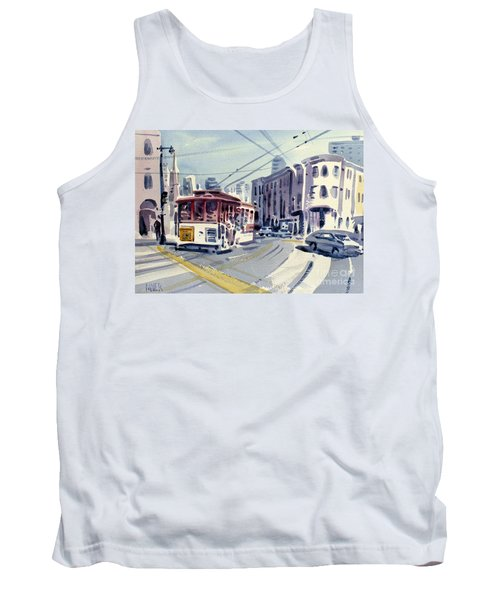 Downtown San Francisco Tank Top by Donald Maier