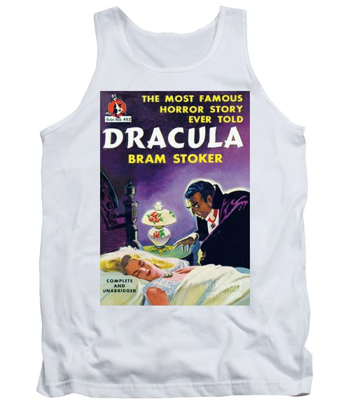 Tank Top featuring the painting Dracula by Unknown Artist