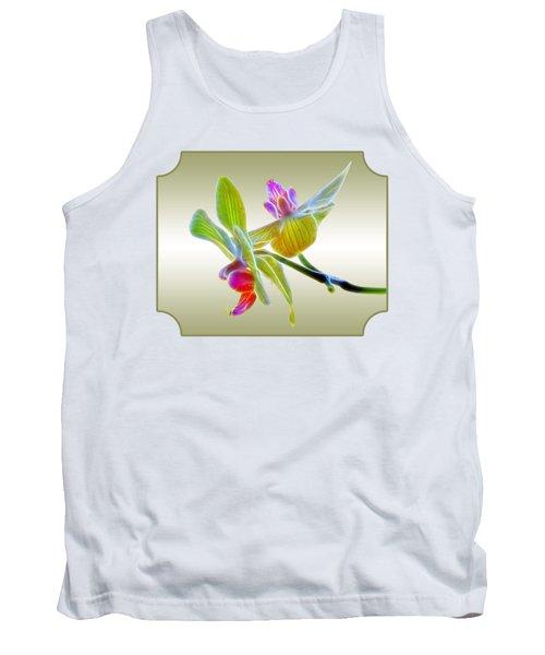 Dragon Glow Orchid Tank Top