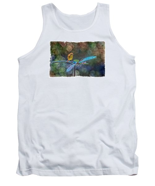 Tank Top featuring the photograph Dragon Rider by Constantine Gregory