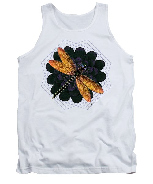 Dragonfly Snookum Tank Top by Iowan Stone-Flowers