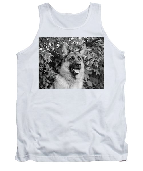 Tank Top featuring the photograph Drake Watching by Sandy Keeton
