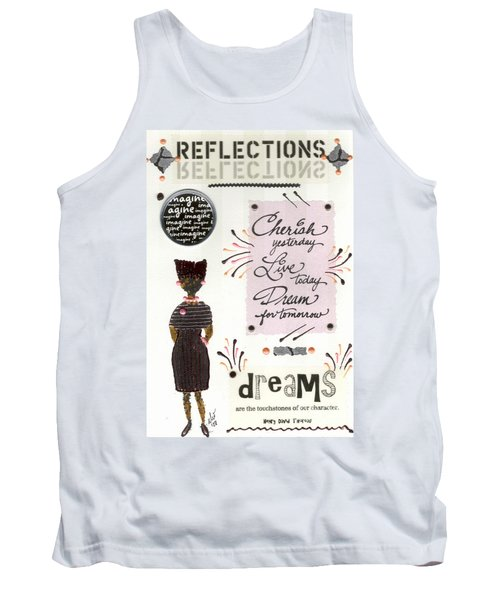 Tank Top featuring the mixed media Dream For Tomorrow by Angela L Walker