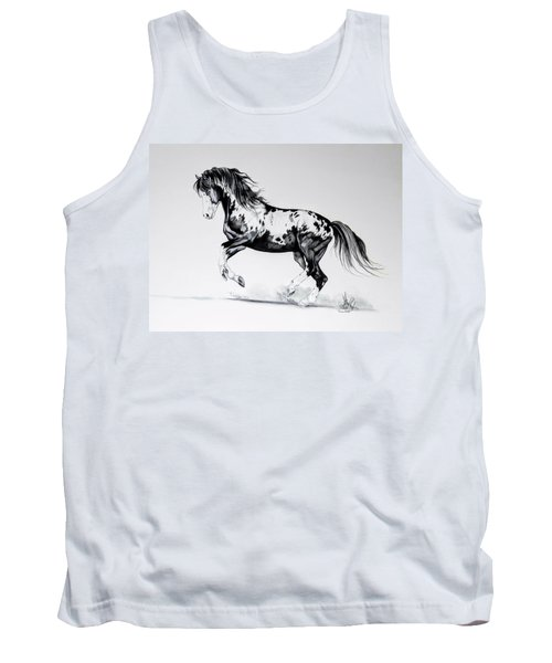 Dream Horse Series - Painted Dust Tank Top by Cheryl Poland