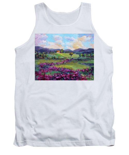 Dream In Color Tank Top by Jennifer Beaudet
