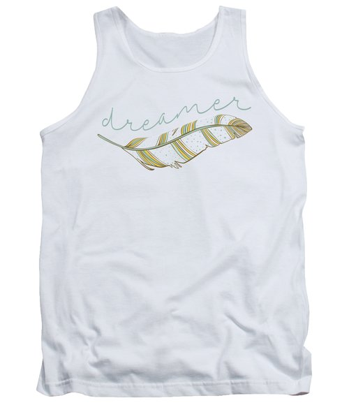 Tank Top featuring the digital art Dreamer by Heather Applegate