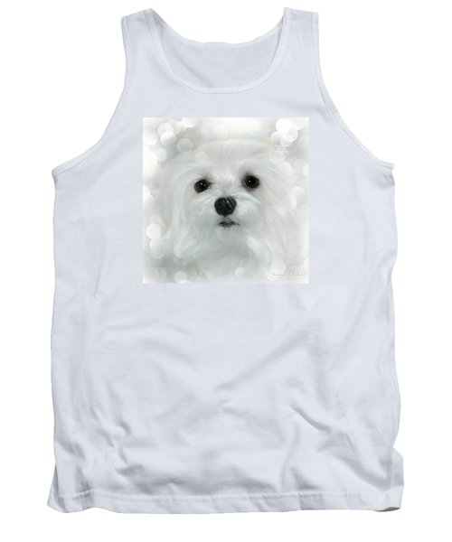 Tank Top featuring the photograph Dreams In White by Morag Bates