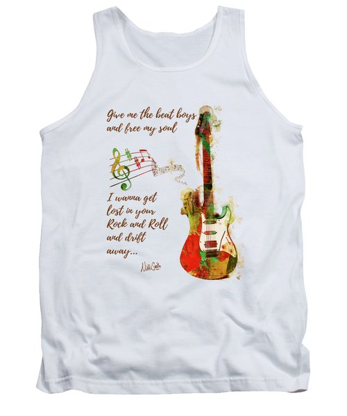 Drift Away Tank Top by Nikki Marie Smith