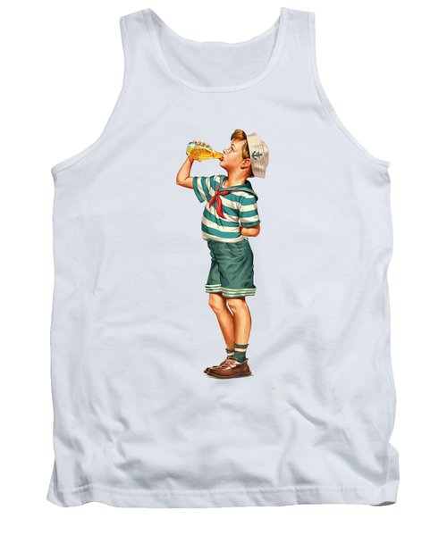 Drink Up Sailor Tank Top