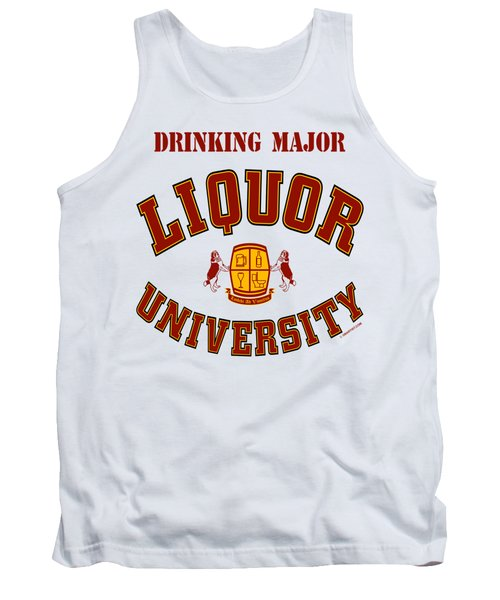 Drinking Major Tank Top