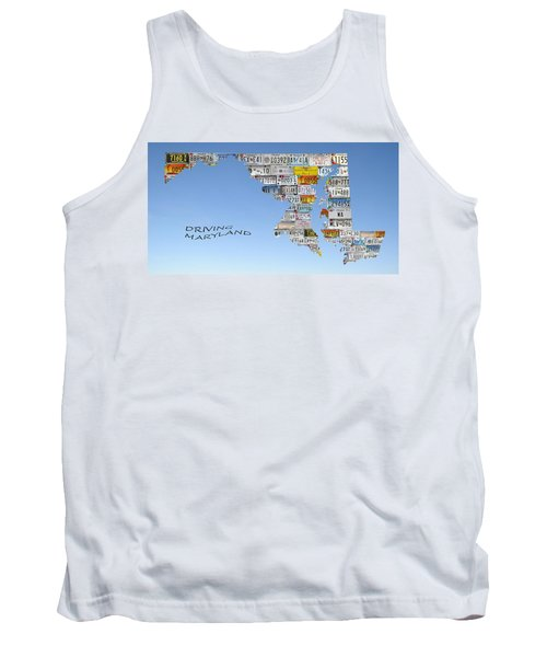 Driving Maryland Tank Top