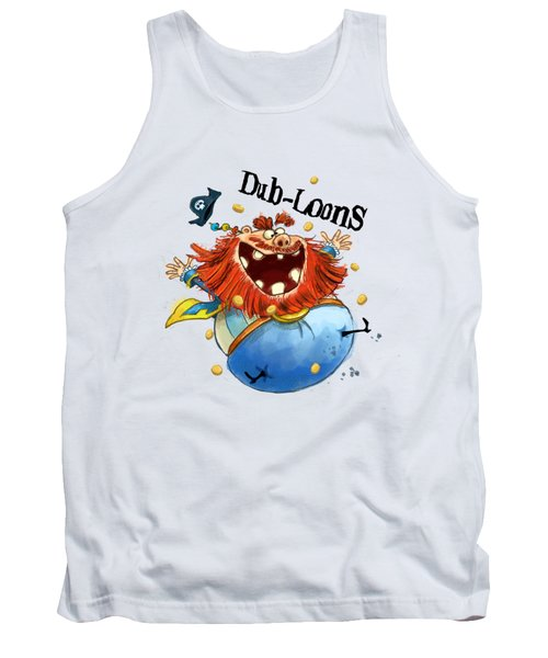 Dub-loons Tank Top by Andy Catling