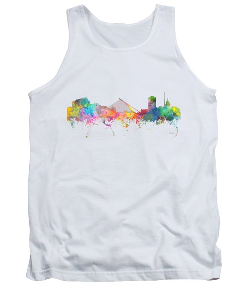 Dublin  Ireland. Skyline Tank Top