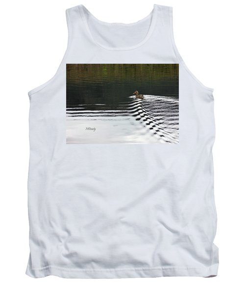 Duck On Ripple Wake Tank Top