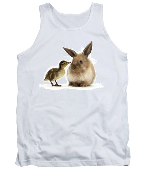 Duck Out Bunny Tank Top